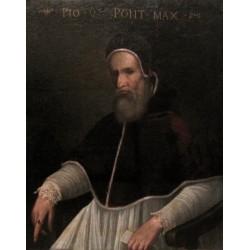 Maestro italiano di fine Cinquecento -  Pio V