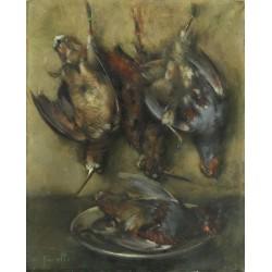 CASELLI RUFO MANUEL, 1933-, Mazzo di fiori (1983)