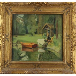 CORBELLI EDGARDO, 1918-1989, Studio di figura (1958)