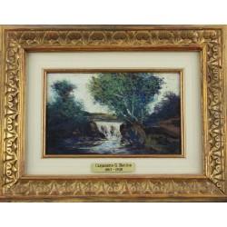 CAVALLERI VITTORIO, 1860-1938, Paesaggio